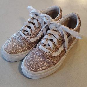 Vans Youth Old Skool Brazilian Sand Glitter Size 1